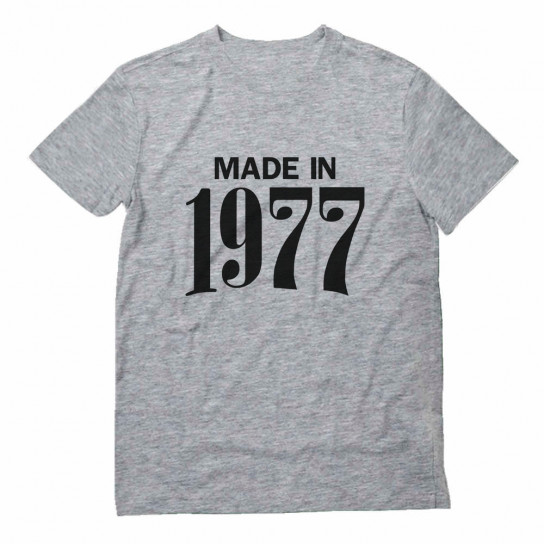 Made in 1977 Birthday Gift