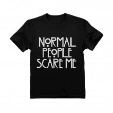 Normal People Scare Me - Cool Unisex