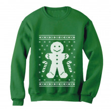 Gingerbread Cookie Man Ugly Christmas Sweater Funny