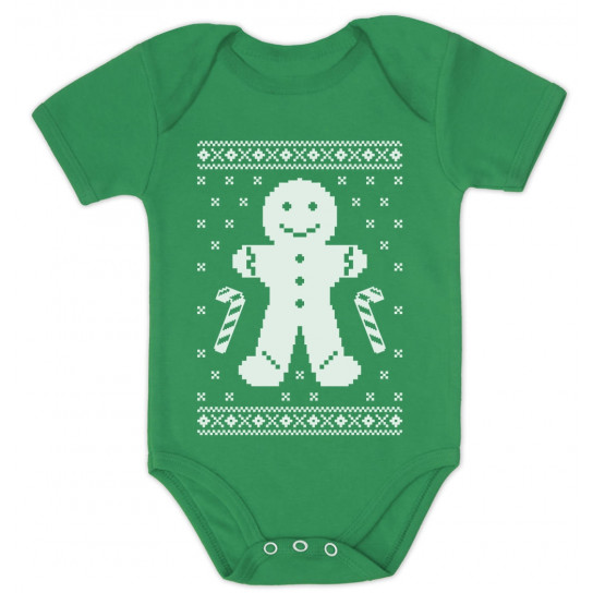 Gingerbread Cookie Man Ugly Christmas Sweatshirt