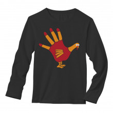 Turkey Hand - Funny Thanksgiving Apparel