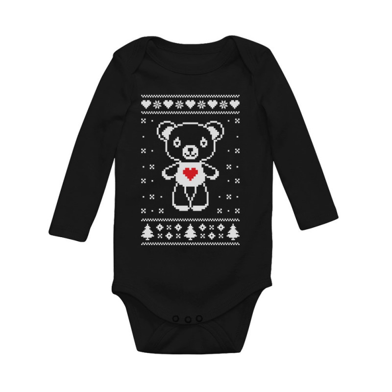 Big White Furry Bear Love Cute Ugly Christmas Sweater
