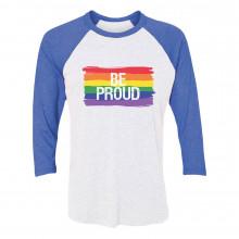 Be Proud Gay Rainbow Flag