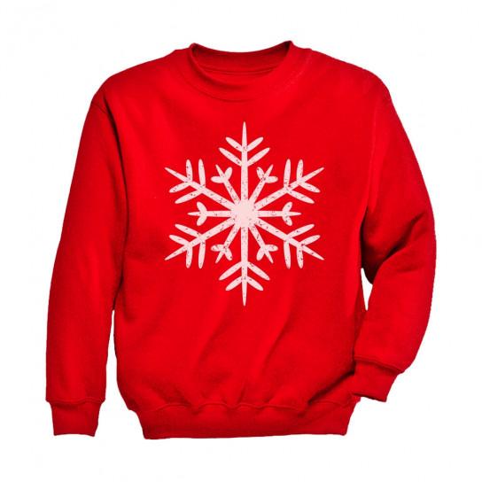 Big White Snowflakes Children's Christmas Gift Xmas