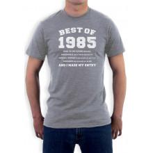 "30th Birthday Gift Idea -""Best of 1985"" Novelty"