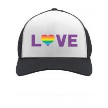Gay Love - Rainbow Heart Gay & Lesbian Pride