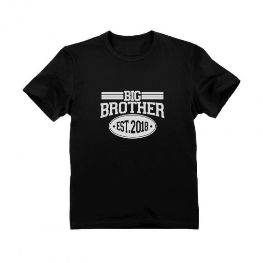 Gift Idea for Big Brother - Est 2018 Boys Children
