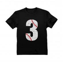 Baseball 3rd Birthday Gift Three Year old