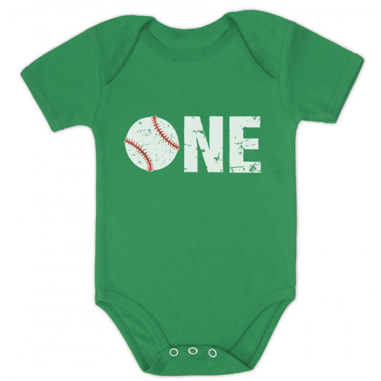 1st Birthday Gift for One Year old Baseball