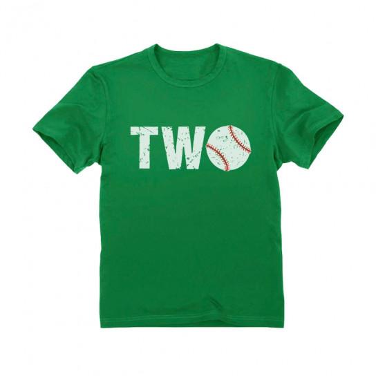 2nd Birthday Gift Two Year Old Baseball