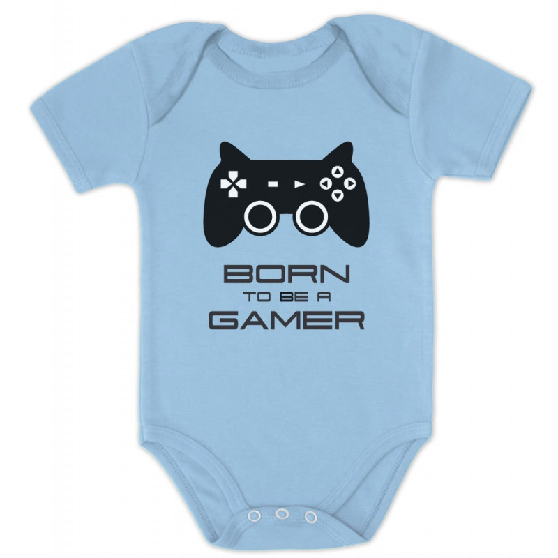 e69c1e99e Born To Be a Gamer Cute Bodysuit - Future Gamer Funny - Geek ...