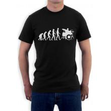 Funny Drums Humor Gift Idea - Drummer Evolution