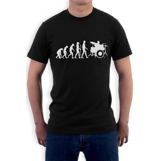 Funny Drums Humor Gift Idea - Drummer Evolution