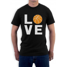 Love Basketball - Gift for Basketball Fans Novelty
