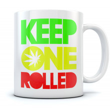 Keep One Rolled Weed Mug
