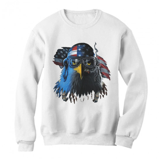 Eagle Pilot American Flag