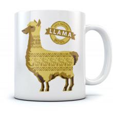 100% Natural llama Wool Mug