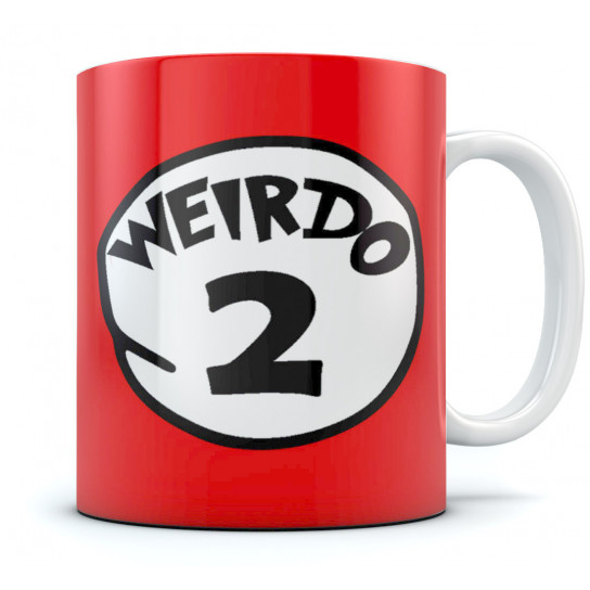 Weirdo 2 - Matching Couple Gift