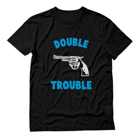 Double Trouble Gun Print