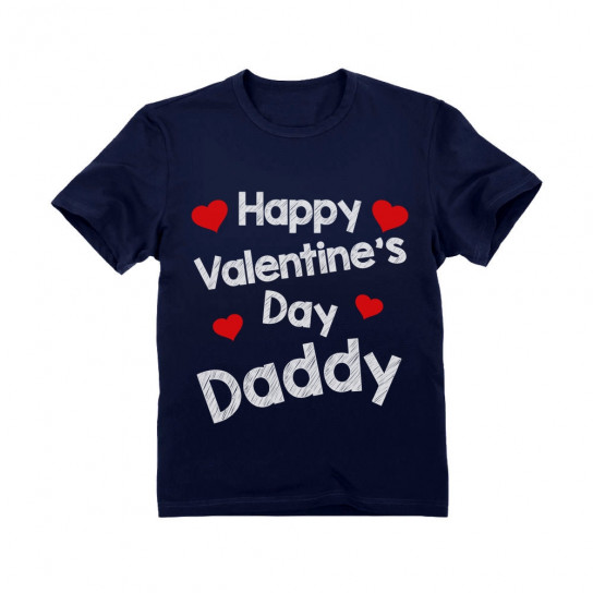 Happy Valentine's Day Daddy - Children