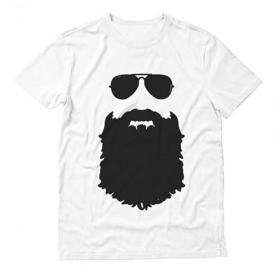 Beard & Sunglasses The Hipsters Apparel Gift Idea Cool