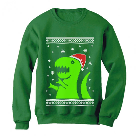 T Rex Ugly Christmas Sweater.Big Green Trex Santa Ugly Christmas Sweater Funny Xmas Christmas Greenturtle