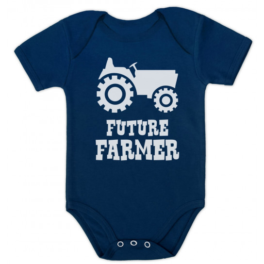 Future Farmer - Cute Baby Grow Vest Farmers Babies Gift
