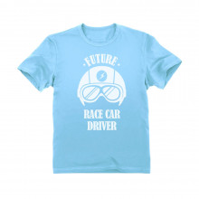 Future Race Car Driver - Cool Children's Clothing Funny