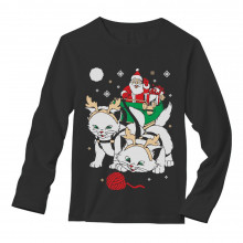Cats Santa Ride Kittens Ugly Christmas