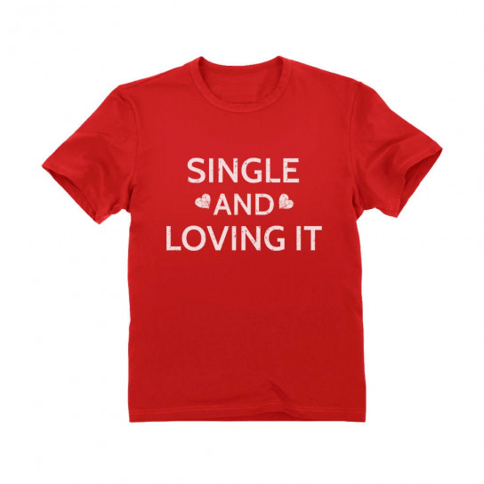 Single And loving It Cute Valentine's Day