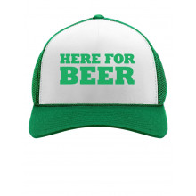 Here For The Beer Cap