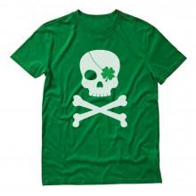 Irish Clover Skull