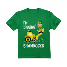 I'm Digging Shamrocks