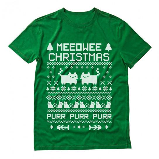 Meeowee Christmas Ugly Sweater