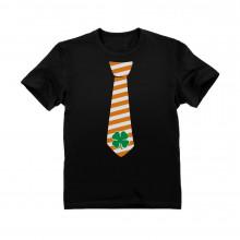 St. Patrick's Clover Striped Tie