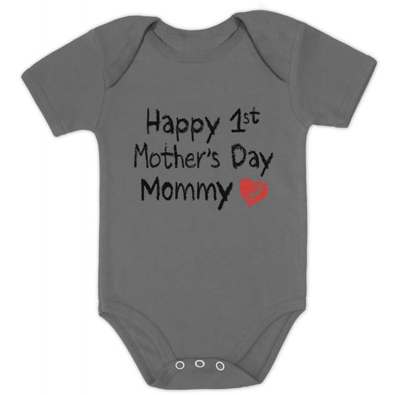 Mothers Day Baby Onesies Happy 1st Mothers Day Mommy Cute Baby Clothes