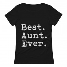 Gift for Auntie Best Aunt Ever - From Nephew or Niece