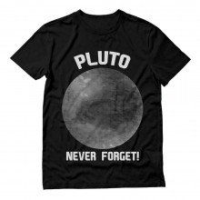 Pluto Never Forget Funny
