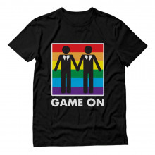 Game On! Same Sex Marriage Gay Couples Equality Love & Pride