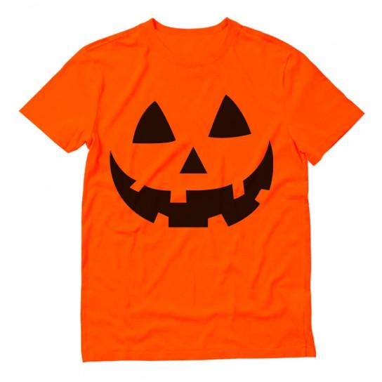 Halloween Pumpkin Face - Easy Costume Fun Smiling Head