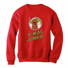 Funny Christmas Shopping Frenzy - Xmas Junkie Holiday