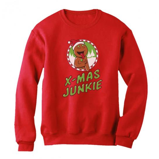 Funny Christmas Shopping Frenzy - Xmas Junkie Holiday - Christmas ...