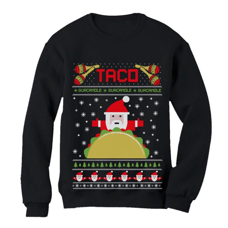Ugly Christmas Sweater Sweatshirts Men Merry Elfin Christmas