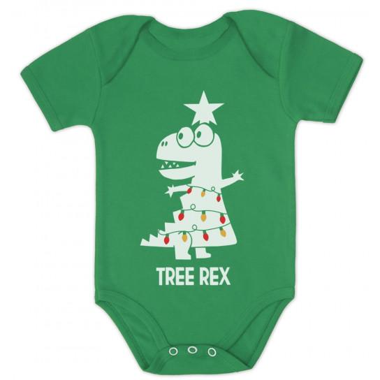 Tree Rex Cute T-Rex Christmas