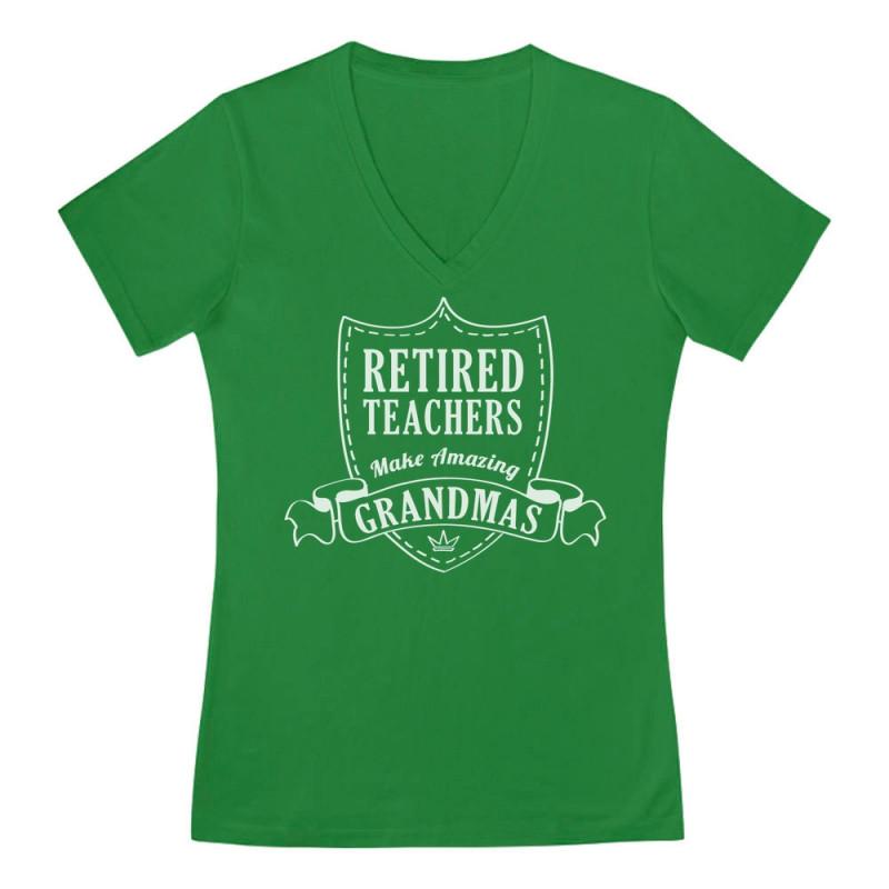 0dc0fcf4 Retirement Gift Retired Teachers Make Amazing Grandmas - Teacher -  Greenturtle