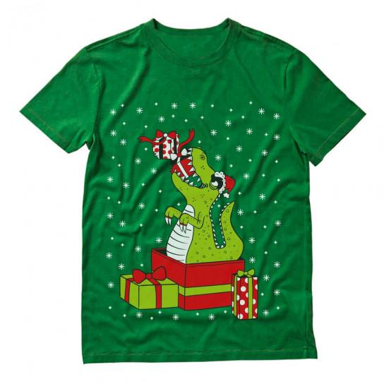 T-Rex Christmas Gift Funny Dinosaur Ugly Xmas
