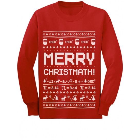 Merry Christmath Math Ugly Xmas