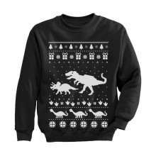 Dinosaur T-Rex Ugly Christmas Cute Holidays