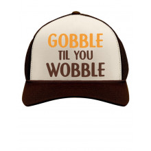 Gobble Til You Wobble Thanksgiving Turkey