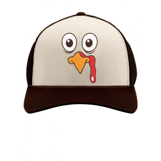 Thanksgiving Turkey Face Funny Holiday